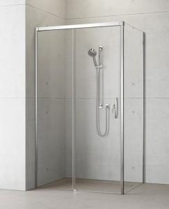 387040-01-01L/387051-01-01R Душевой уголок Radaway Idea KDJ 100 x 80 левый, стекло прозрачное
