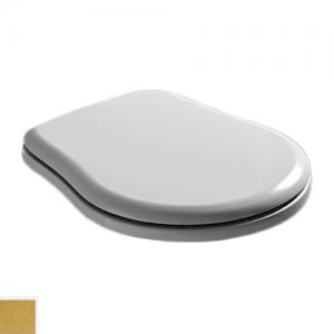 109101 bi/oro Крышка-сиденье Kerasan Retro 109101 standart, белый/золото