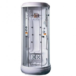 TS-0840W Душевая кабина Appollo 99 x 99 см гидросауна