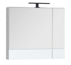 Зеркало-шкаф Aquanet Нота 75 (камерино) 00165130, цвет белый