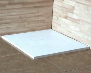 16152099-01 Душевой поддон RGW ST-0099W 90 x 90 см, квадратный, цвет белый, из искусственного камня