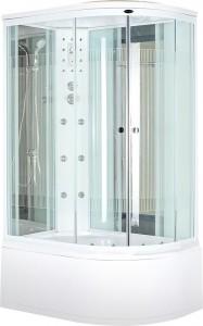 NG-710S L Душевая кабина Niagara/R, асимметричная, с баней, 120 x 80 см