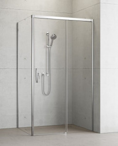 387040-01-01R/387052-01-01L Душевой уголок Radaway Idea KDJ 100 x 100 правый, стекло прозрачное