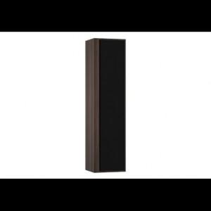 Пенал Vitra Metropole 58203/58204 40 см, правосторонний/левосторонний, цвет сливовое дерево, фасад черное акриловое стекло