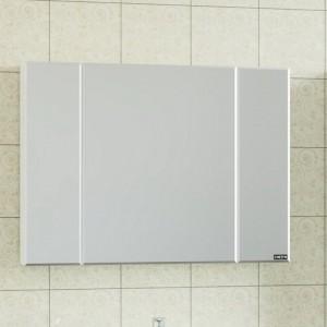 Зеркальный шкаф СаНта Стандарт 100 113012, цвет белый