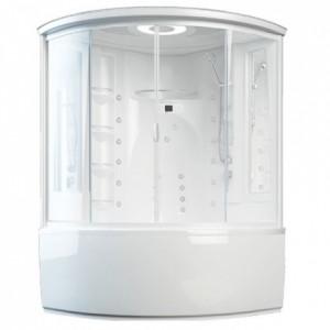 00161387 Душевая кабина Aquanet Palau 140 x 140 см с гидромассажем без пара + Ванна с гидромассажем