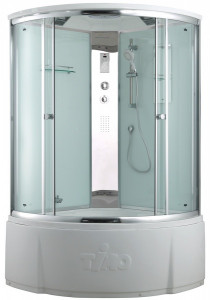 T-8835 C Душевая кабина Timo Comfort Clean Glass стекло прозрачное 135x135 см