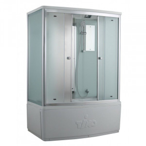 T-8850 F Душевой бокс Timo Comfort Fabric Glass, стекло матовое, 150 x 88 см