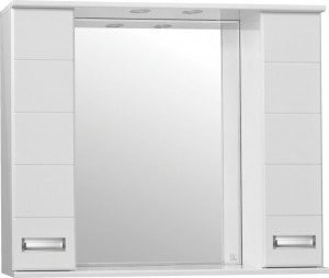 Зеркало-шкаф Style Line Ирис 100/С белый
