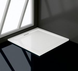 03250199-01 Душевой поддон RGW AWF-01 90 x 90 см, композитный с акрилом, квадратный