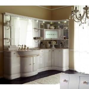 Комплект мебели Eurodesign Luxury Композиция № 2, Grigio Lux Lucido/Серый глянцевый