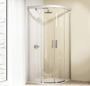 8E3016 092 322 Душевой уголок Huppe Design elegance, 120 х 90 х 190 см, стекло прозрачное