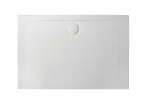 PDR021 01; 00 Поддон ArtCeram Texture 120 х 80 х 5,5 см,, прямоугольный, цвет - белый глянцевый, из искусственного камня