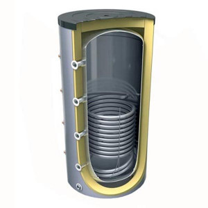 Буферная емкость с теплообменником Tesy PR 300 л.