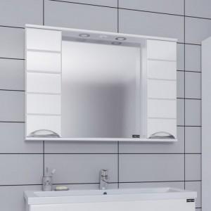 Зеркальный шкаф СаНта Родос 80 106017, с подсветкой