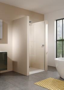 GQ0742001 Душевая дверь в нишу Riho Scandic Soft Q102 160 x 200 см