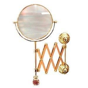 Настенное косметическое зеркало Migliore.CRistalia ML.CRS-60.219.DO - золото