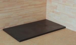 16152810-02 Душевой поддон RGW ST-0108G 80 x 100 см, прямоугольный, цвет серый, из искусственного камня
