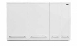 Шкаф с сушилкой Vod-ok 130 цвет белый