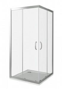 ИН00020 Душевое ограждение Good Door Infinity CR-100-C-CH 100 х 100 х 185 см,, стекло прозрачное, хром