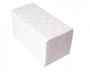 Бумажные полотенца 2-x слойные Merida V-TOP blue 4000 (20 пачек х 200 шт.)
