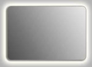 Зеркало Wenz Design QR-contour-H скругленное / с контурной подсветкой