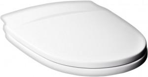 Крышка-сиденье Gustavsberg Nordic 1919902055 белая, с микролифтом, петли хром